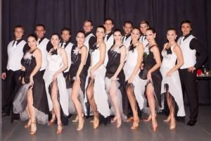 Black & White - formace standardních tanců